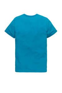 PME Legend T-shirt met logo blauw, Blauw