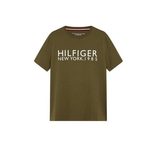 Tommy Hilfiger T-shirt met logo groen