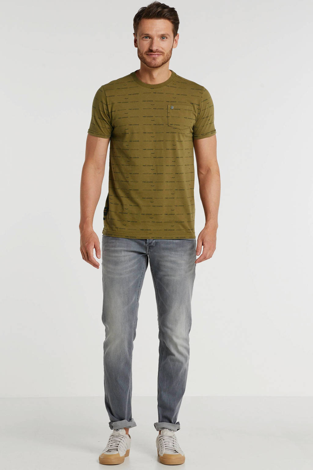 PME Legend straight fit jeans Curtis runway grey, Runway Grey