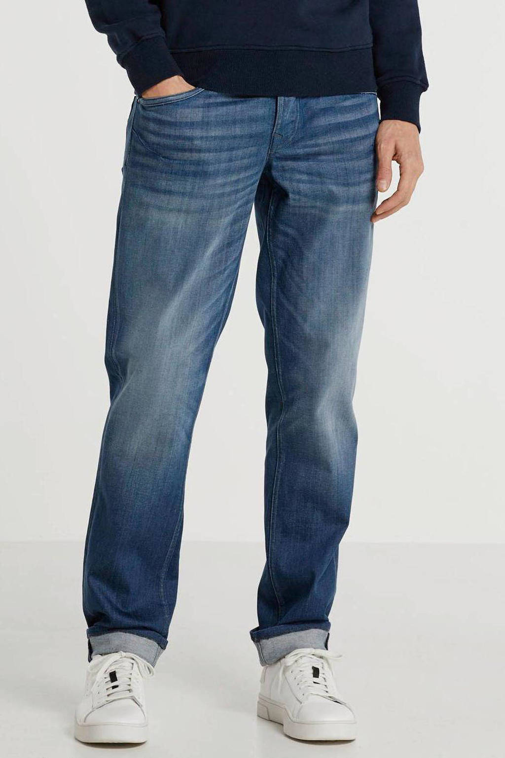 PME Legend regular straight fit jeans Skyhawk mid grey blue, Mid grey blue