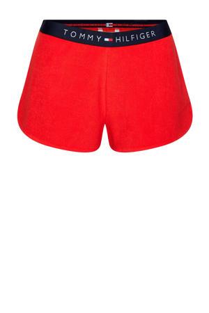 badstof strandshort rood