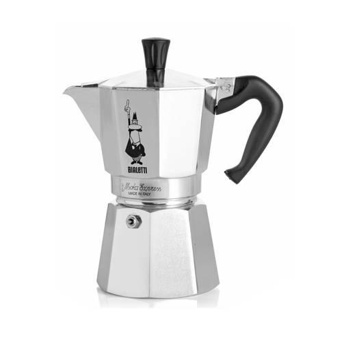 Bialetti Moka Express Koffiemaker Grijs 2 Kops