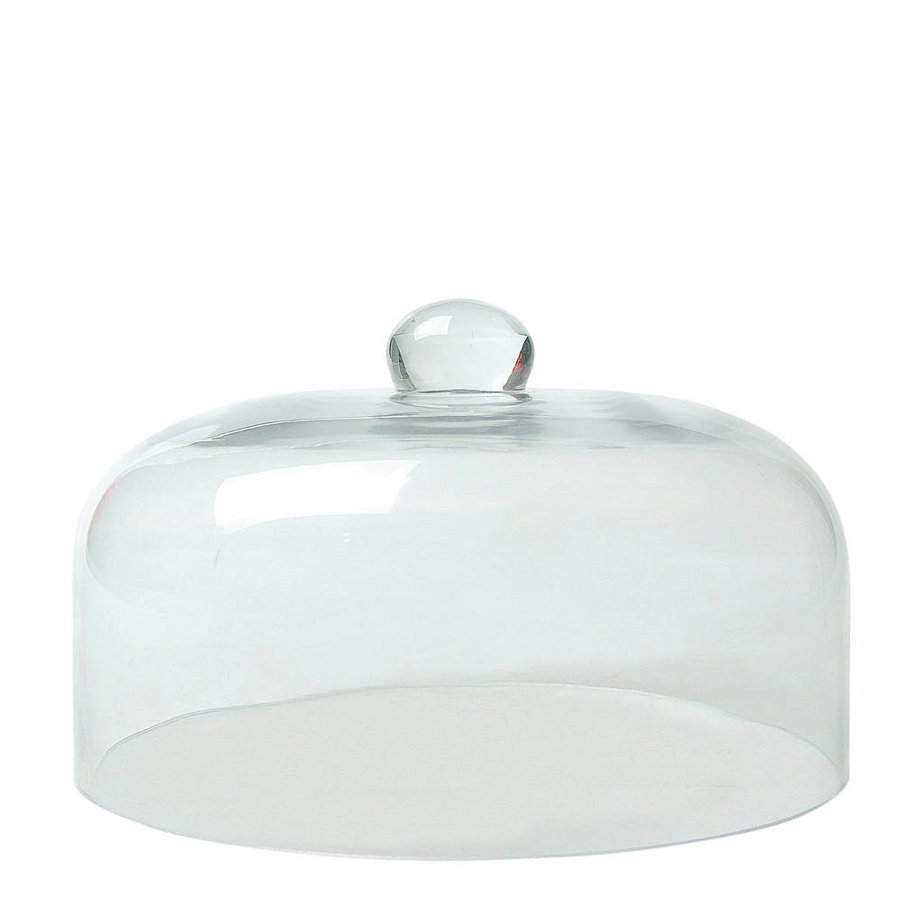 Cosy & Trendy taartstolp Ø 24,5 cm, Transparant
