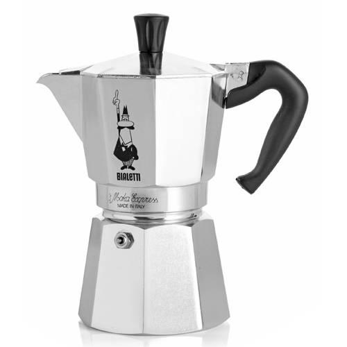Bialetti Moka Express Koffiemaker Grijs 18 Kops