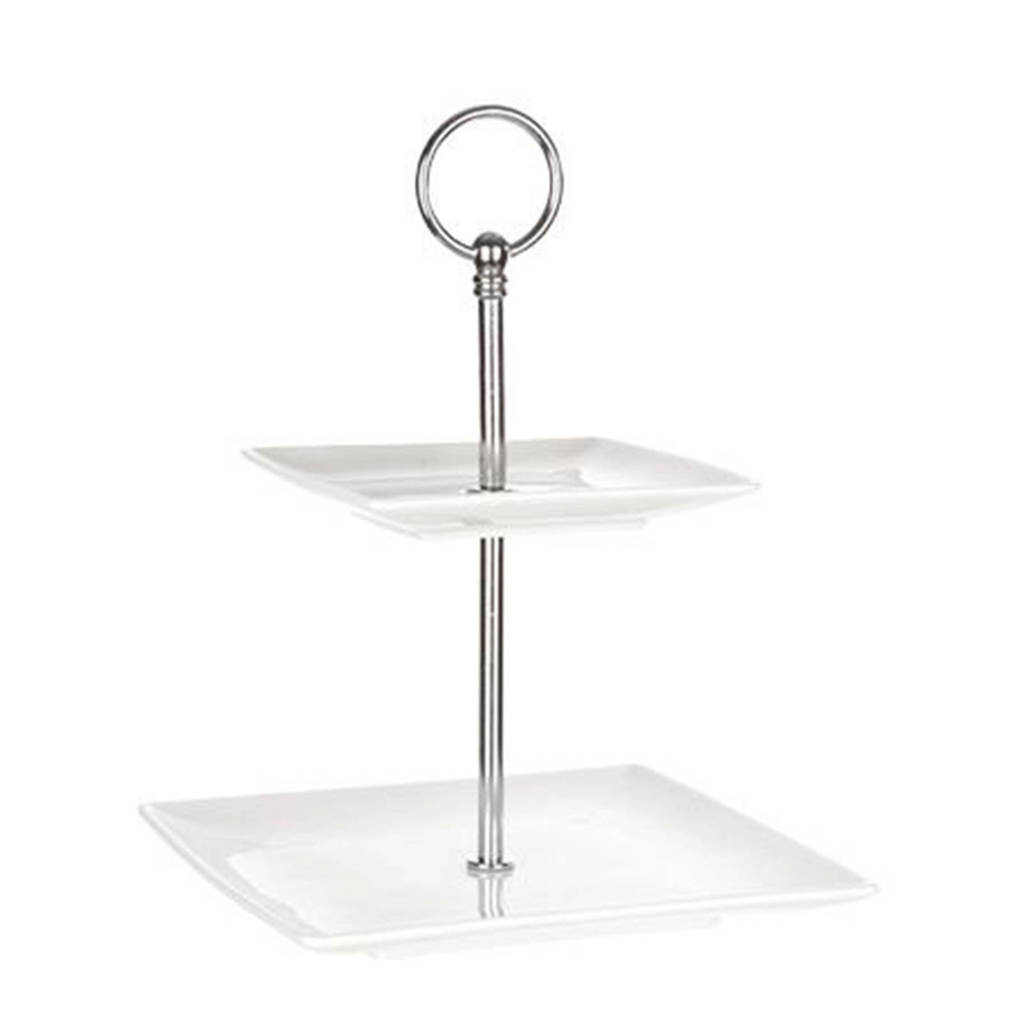 Cosy & Trendy etagere Avantgarde 2 laags, Wit