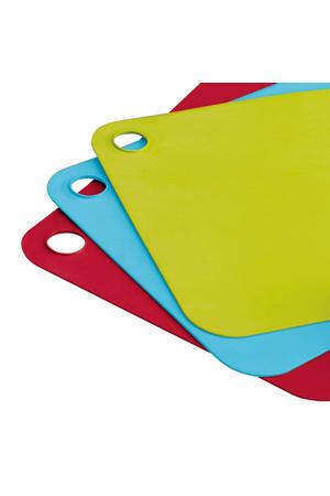 snijplankenset 3 kleuren