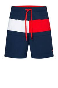 Tommy Hilfiger zwemshort donkerblauw/wit/rood, Blauw