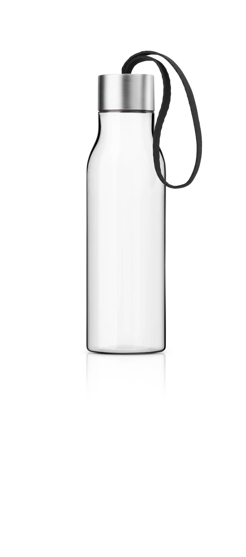 Eva Solo Bidon Black 0.5 liter, Zwart