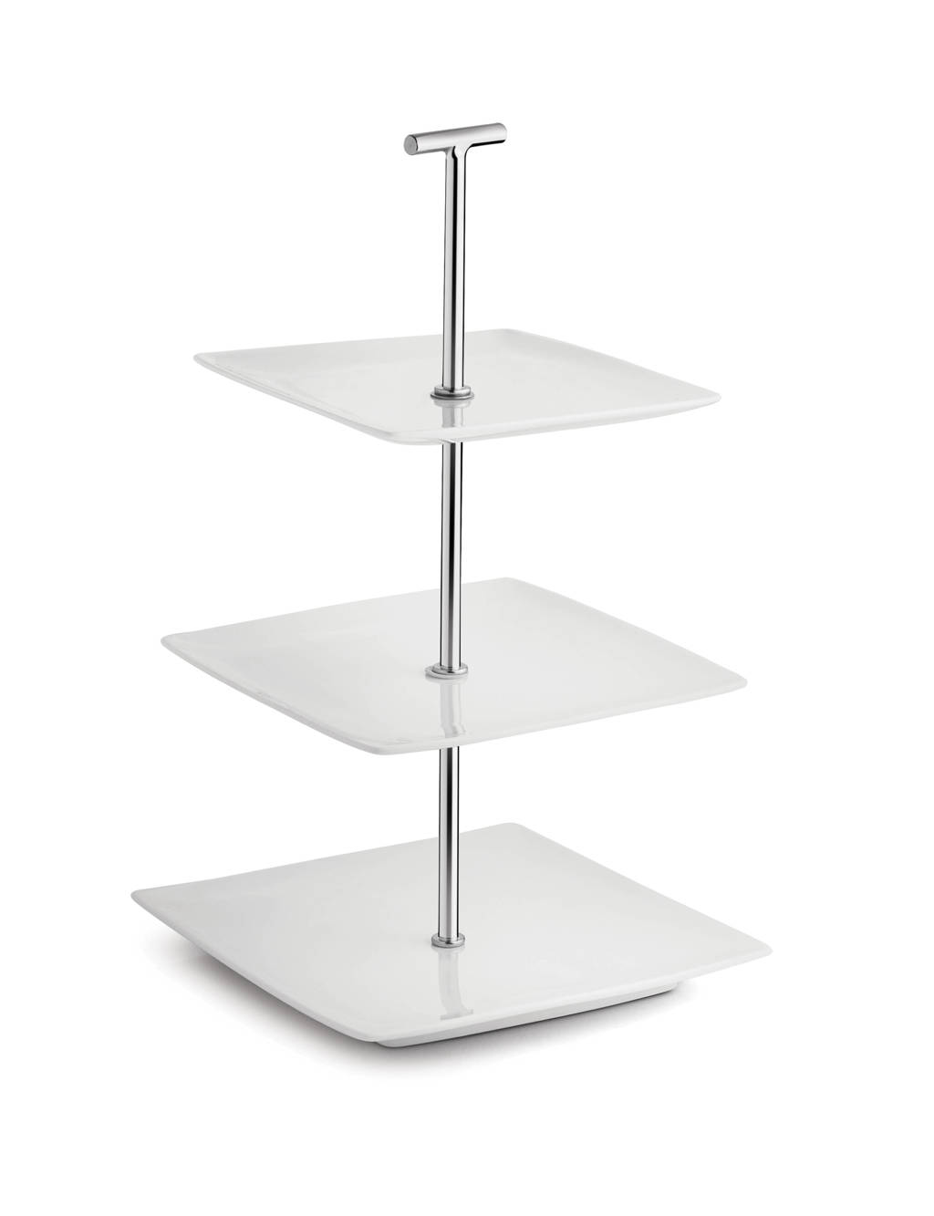 Yong etagere squito 3 laags, Wit