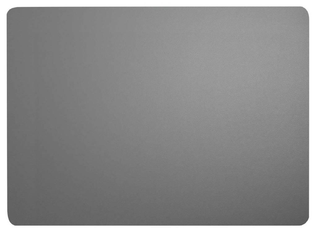 ASA Selection placemat Leer (33x46 cm), Grijs