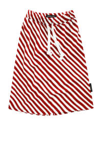 Your Wishes gestreepte rok Red Stripes rood/wit, Rood/wit