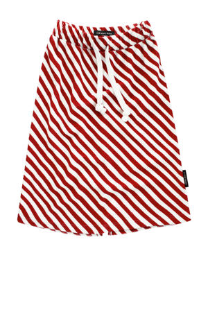 gestreepte rok Red Stripes rood/wit