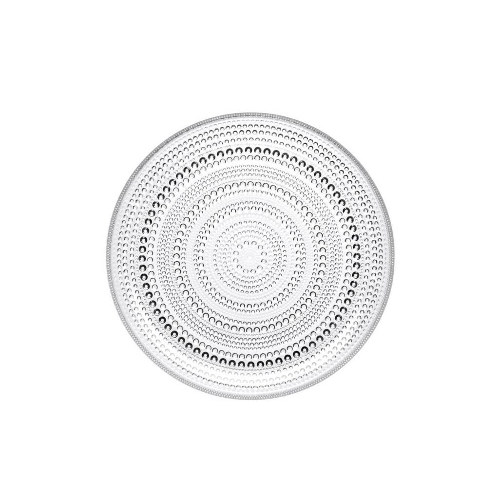 Iittala Kastehelmi bord (25 cm), Transparant