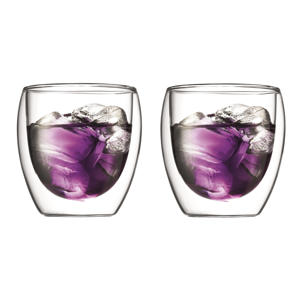 dubbelwandige glazen Pavina (25 cl) (set van 2)