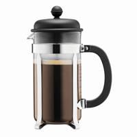 Bodum cafetiere Caffettiera (1L), Zwart