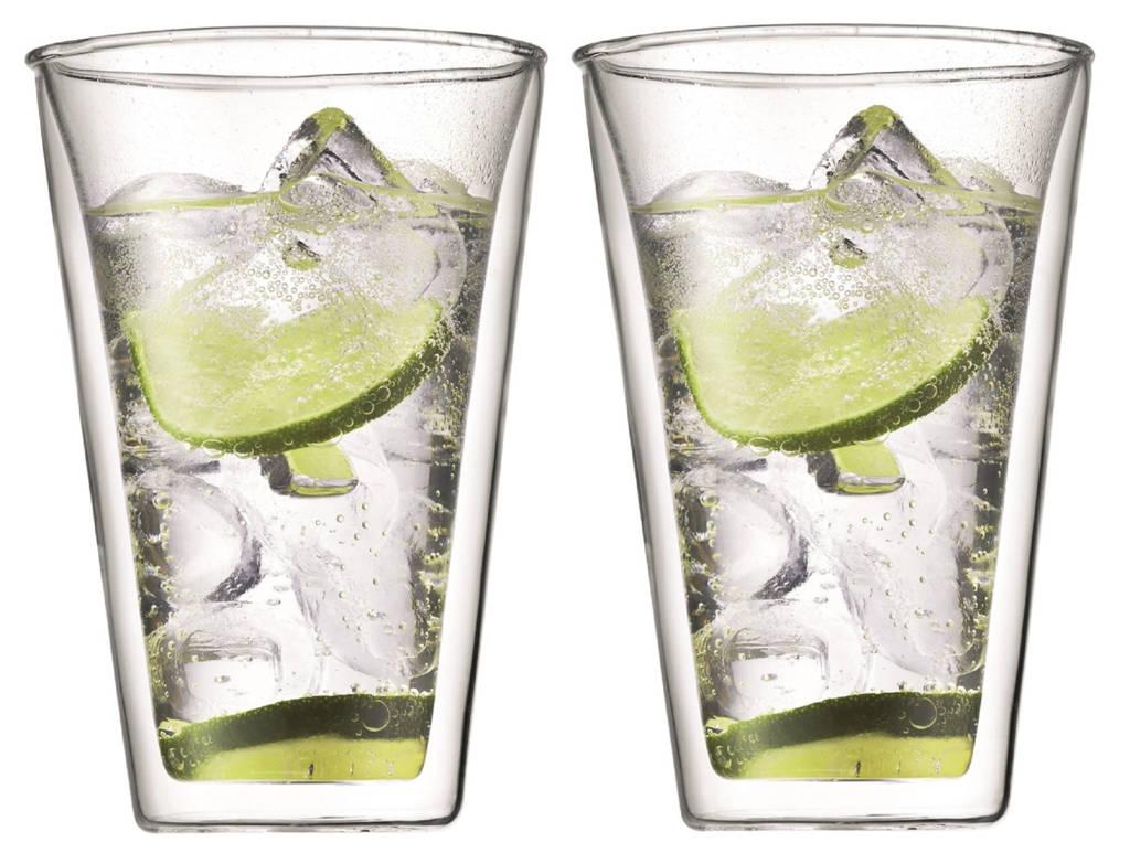 Bodum dubbelwandige glazen Canteen (40 cl) (set van 2), 400