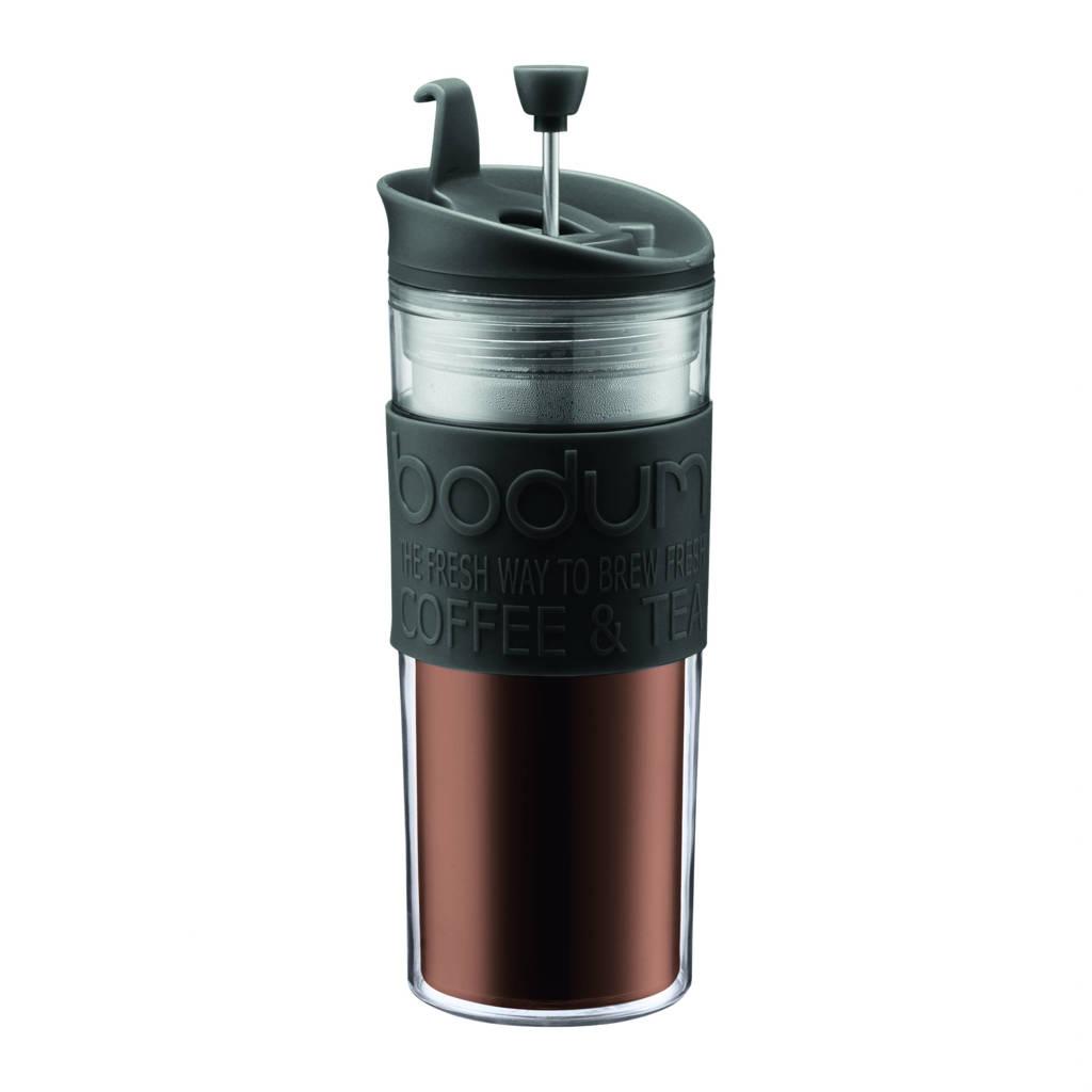 Bodum cafetière Travel Press (0,45 liter), Zwart