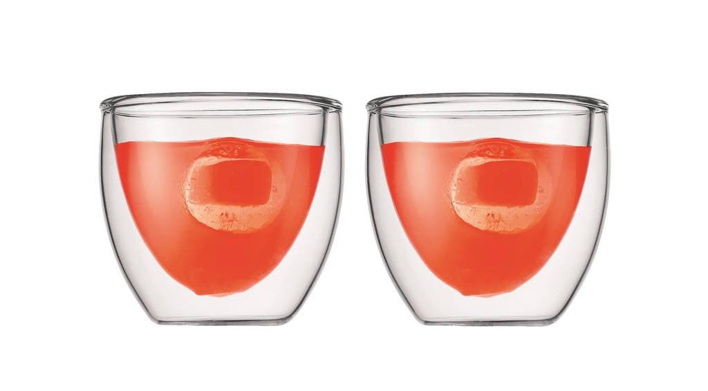 Bodum dubbelwandige glazen Pavina (8 cl) (set van 2), 80