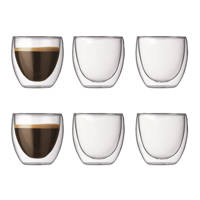 Bodum dubbelwandige glazen Pavina (8 cl) (set van 6), 80