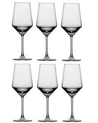 Schott Zwiesel rode wijnglas Pure - set van 6, Transparant