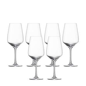 rode wijnglas Taste - set van 6