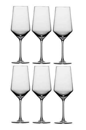 Bordeauxglas Pure - set van 6