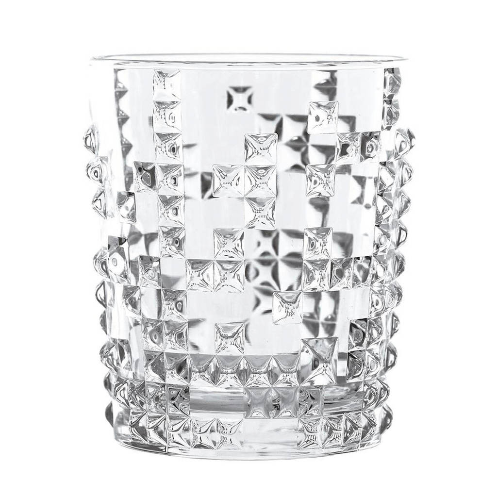 Nachtmann whiskyglas Punk - set van 4, Transparant