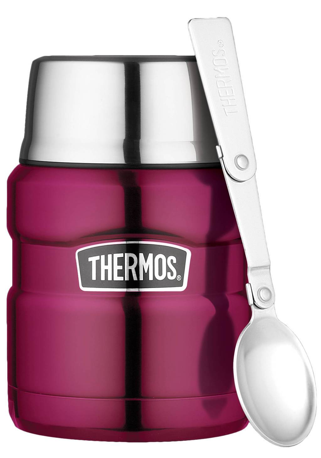 Thermos voedseldrager King 0,45 l, Paars