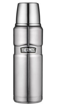 Thermos thermosfles King RVS 0,47 l, Zilverkleurig