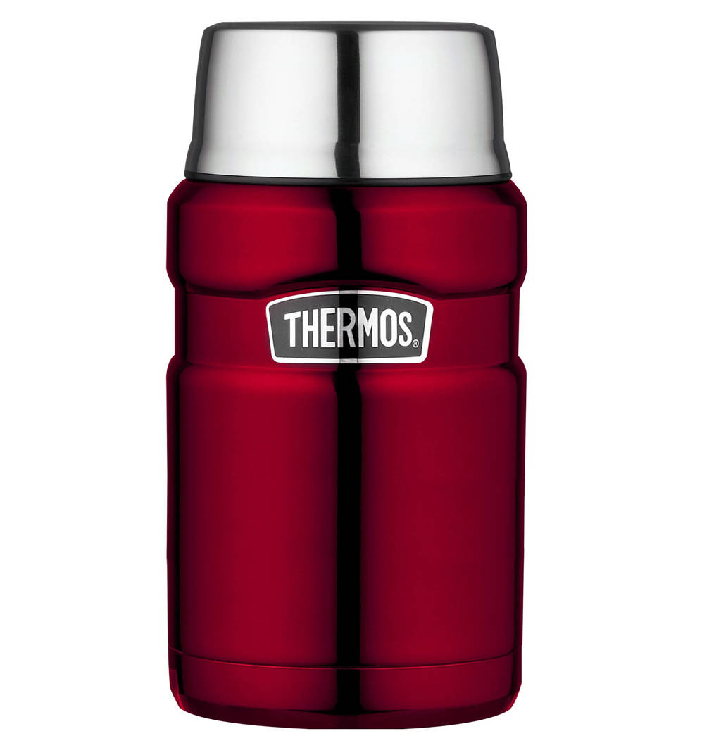 Thermos voedseldrager King 0,71 l, Rood