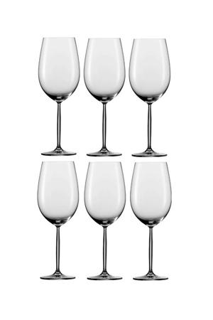 Bordeauxglas Diva - set van 6