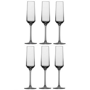 champagneglas Pure - set van 6