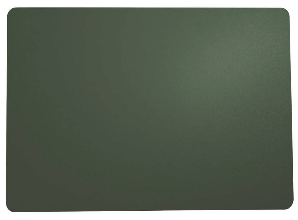 ASA Selection placemat Leer (33x46 cm), Donkergroen