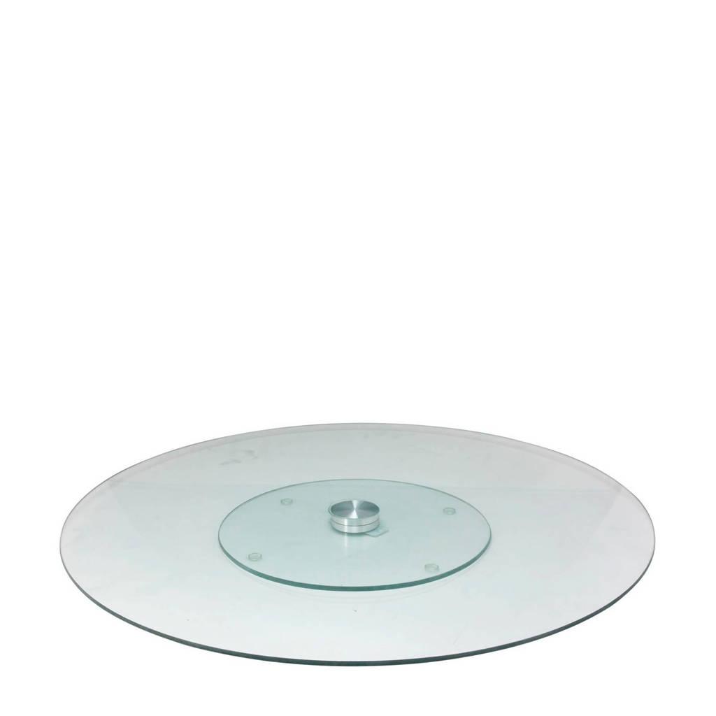 Easyline Taartplateau glas XXL Ø45 cm, Transparant