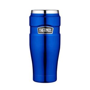 thermosbeker King metallic blauw 0,47 l