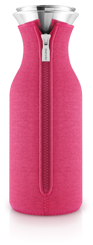 Eva Solo Fridge Karaf Drupvrij Neoprene Berry Red 1 liter, Roze