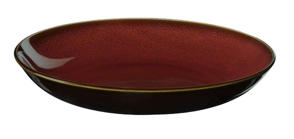 ASA Selection pastabord Kolibri Rusty Red (Ø24 cm), Rood