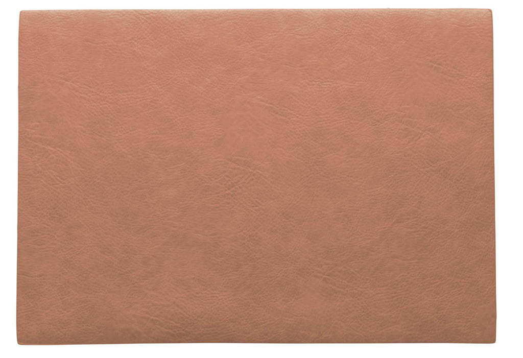 ASA Selection placemat Leer (33x46 cm), Coral