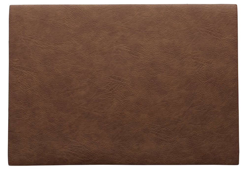 ASA Selection placemat Leer (33x46 cm), Caramel