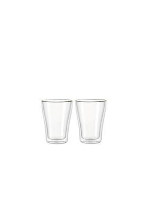 Dubbelwandige Cappuccinoglazen Duo 35 cl 2 stuks
