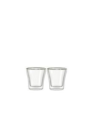 Dubbelwandige Espressoglazen Duo 8.5 cl 2 stuks