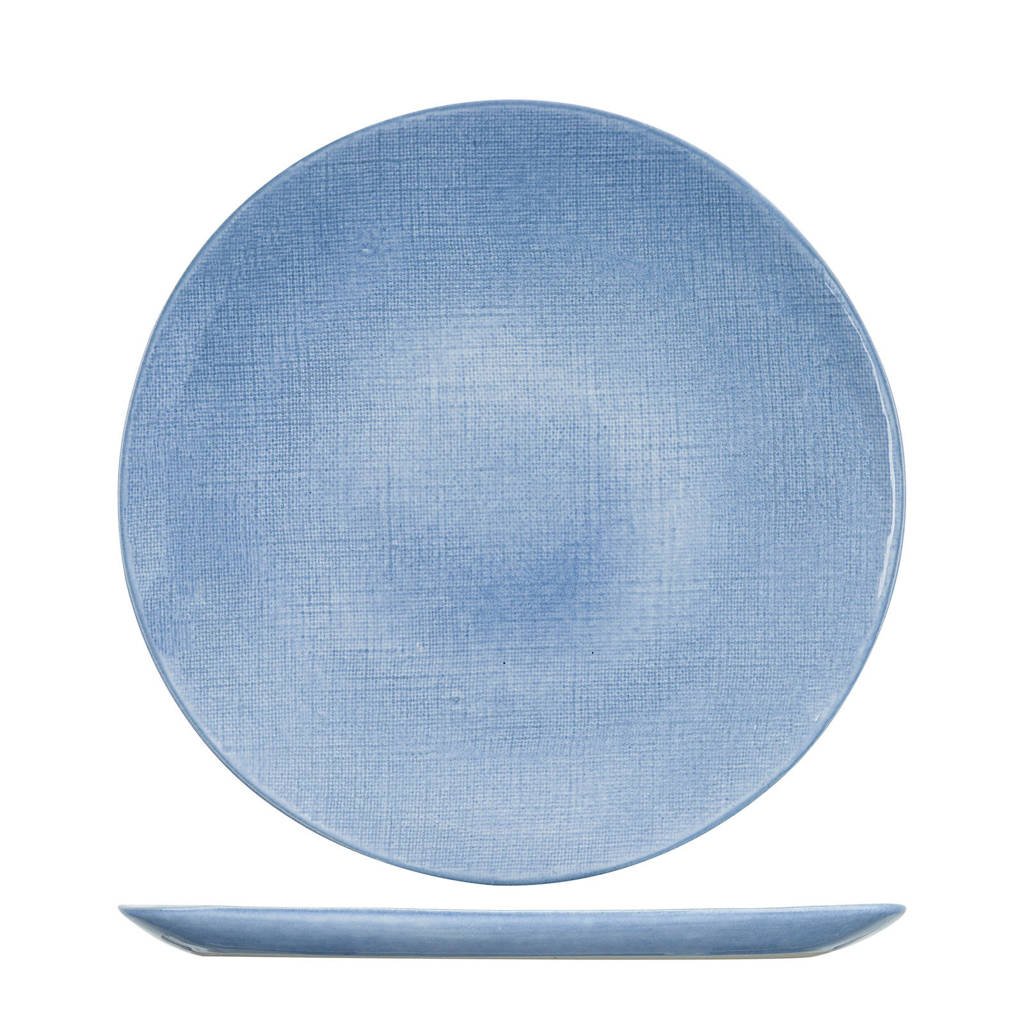 Cosy & Trendy onderbord Sajet Blauw (Ø33 cm)