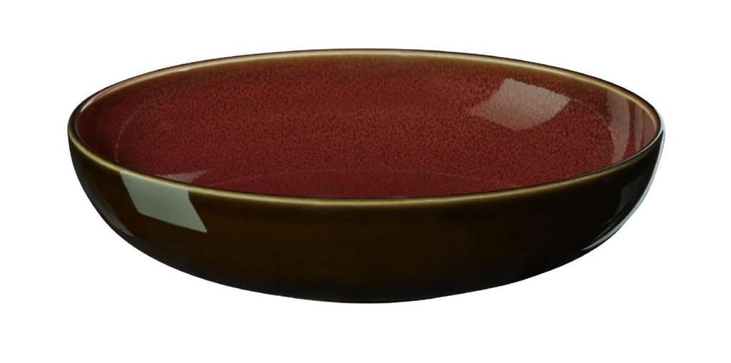 ASA Selection schaal Kolibri Rusty Red (Ø18 cm), Rood