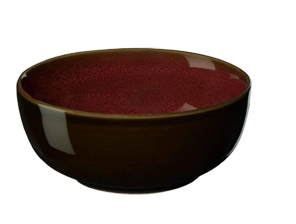 ASA Selection schaal Kolibri Rusty Red (Ø13 cm), Rood