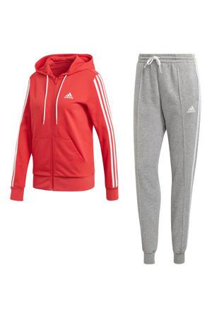 trainingspak rood/grijs