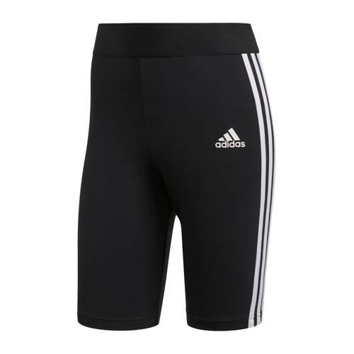 adidas Performance sportshort zwart-wit