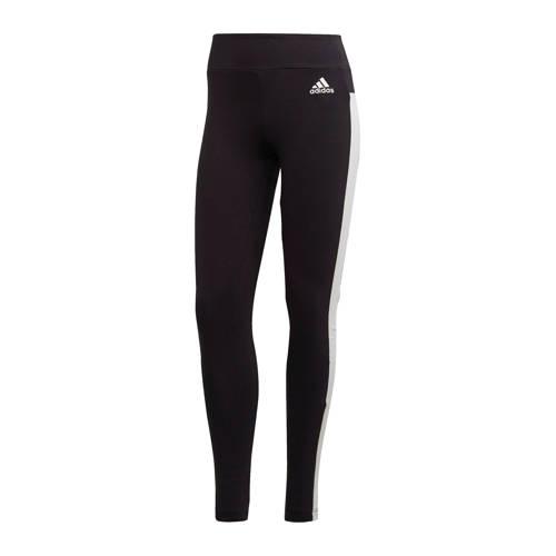 adidas Performance sportbroek zwart/wit