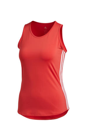 sporttop rood/wit