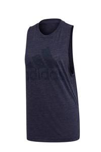 adidas Performance sporttop donkerblauw, Donkerblauw