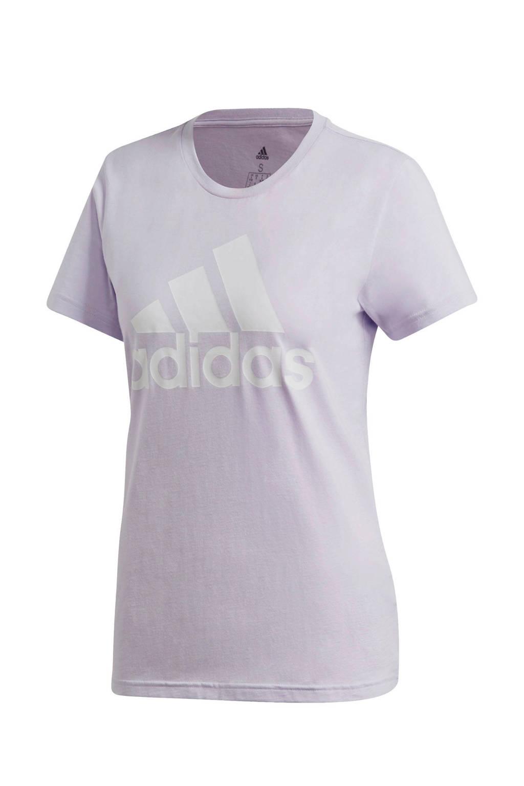 adidas Performance sport T-shirt lila, Lila